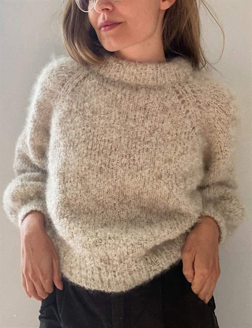Bouclé sweater (NO)